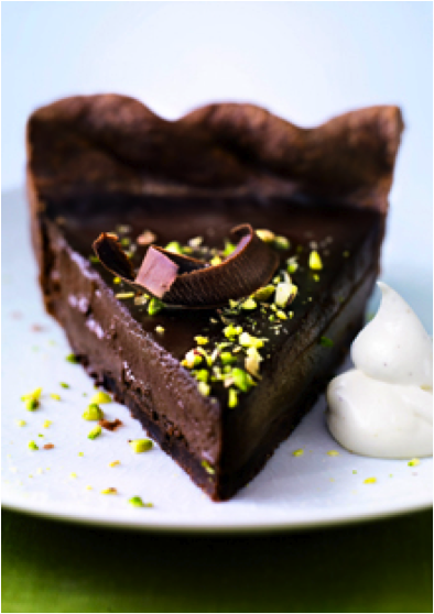 Chocolate Pistachio Pie